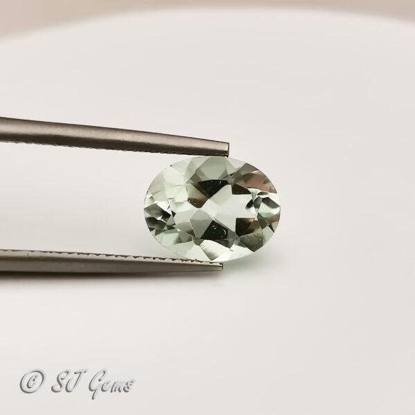 Green Amethyst 1.50ct Oval