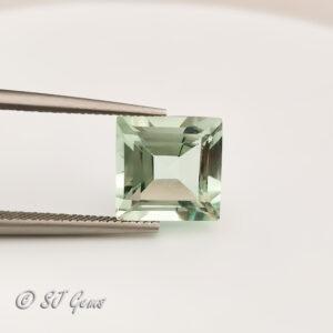 Green Amethyst 3.36ct Square