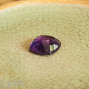 Amethyst 10.82ct Rounded SQ Checkerboard Pair