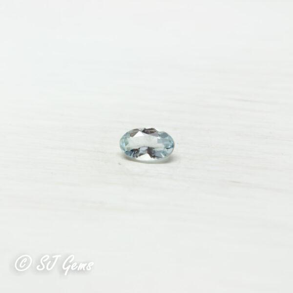 Aquamarine 0.25ct Oval