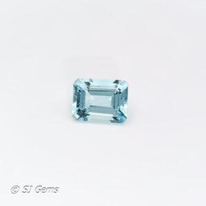 Aquamarine 1.64ct Octagon
