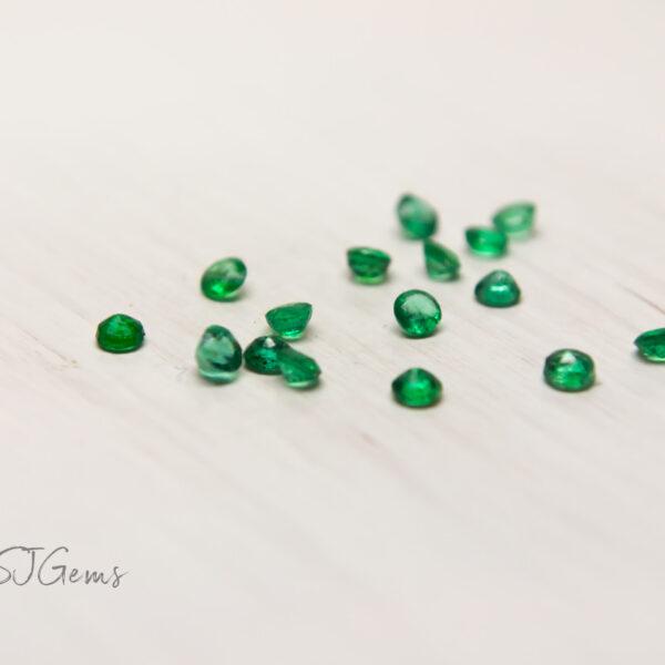 Emerald 2mm Round