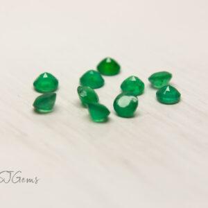 Emerald 3mm Round