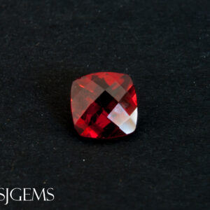 Pyrope Garnet 1.20ct Checkerboard SQ