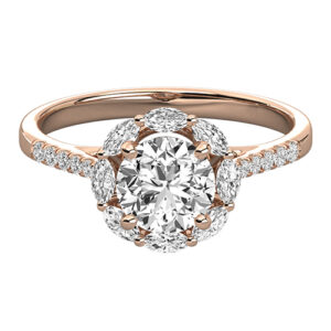 Halo engagement rings for sale