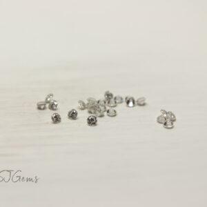 Moissanite 1.3mm Round
