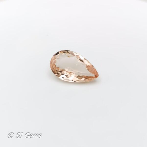 Morganite 2.13ct Pear