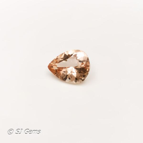 Morganite 2.10ct Pear
