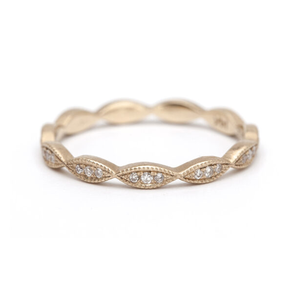 Marquise Pavé Eternity Band