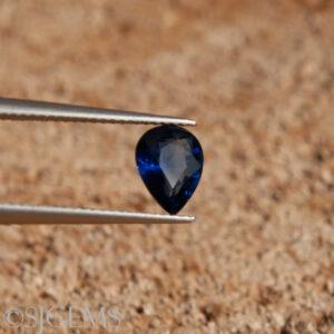 Blue Sapphire 0.43ct Pear