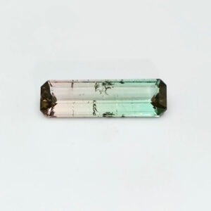 Bi-Colour Tourmaline 1.60ct Octagon