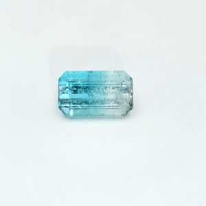 Bi-Colour Tourmaline 2.05ct Octagon
