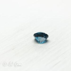 London Blue Topaz 0.56ct Heart