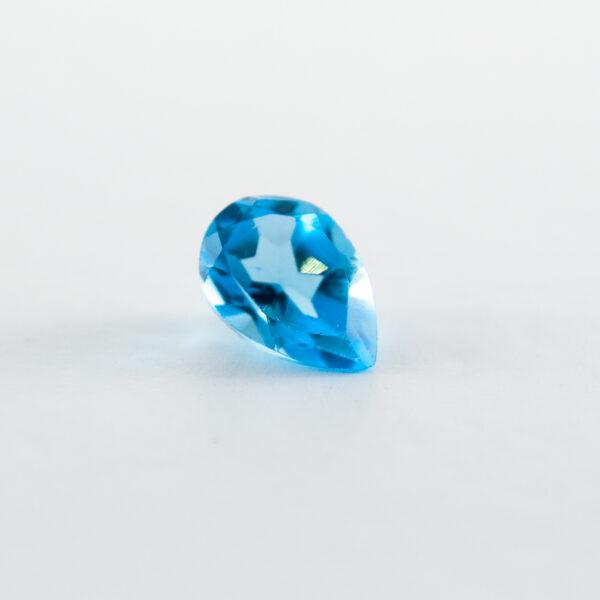Swiss Blue Topaz  1.40ct Pear