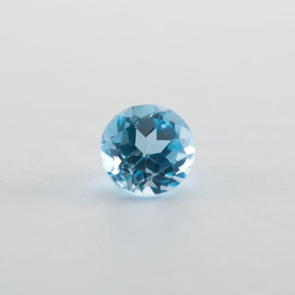 Swiss Blue Topaz 1.10ct Round