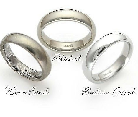 before and after rhodium plating