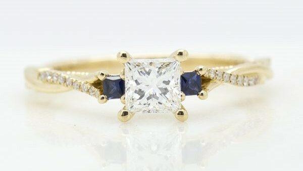 Trilogy Engagement Ring