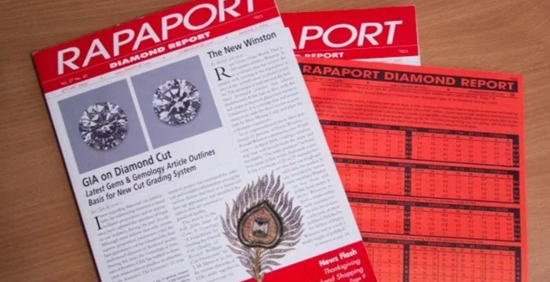 rapaport diamond price book
